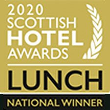 Scottish Hotel Awards - Lunch Award National Winner 2020