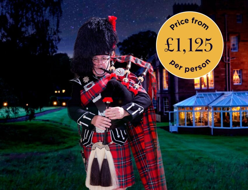 Hogmanay at Cringletie 2021 - Prices from £1,125 per person