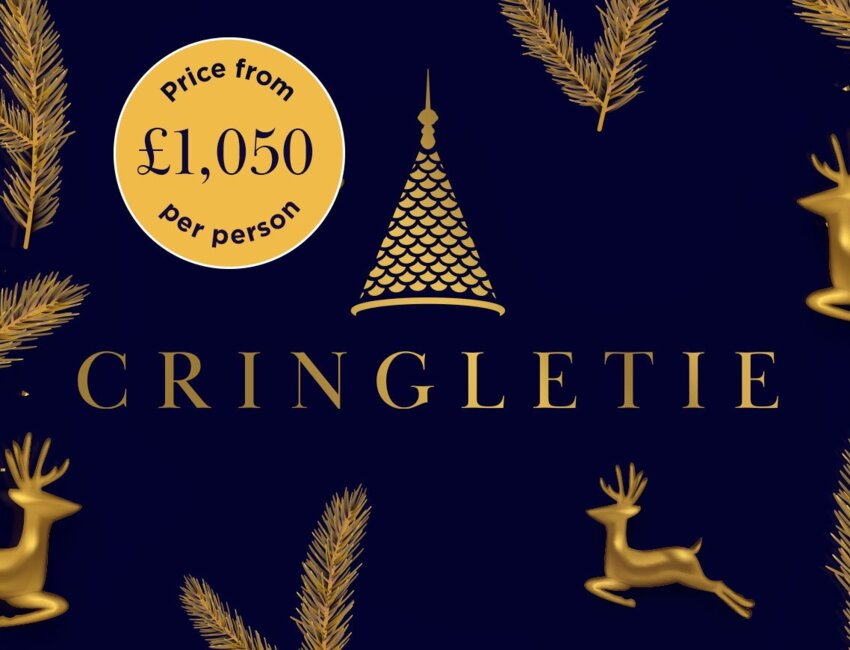 Christmas at Cringletie 2021 - From £1050 per person