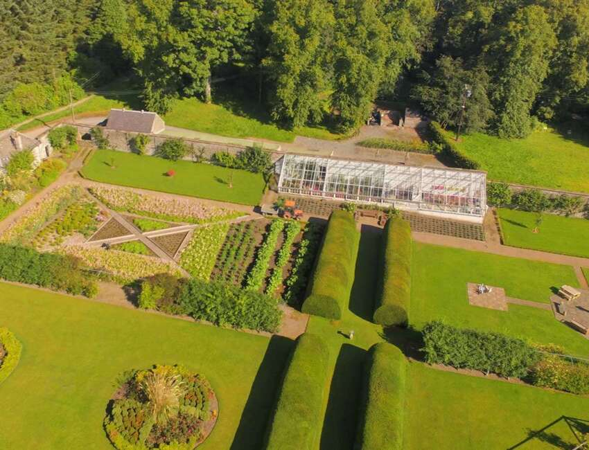 The Walled Garden at Cringletie